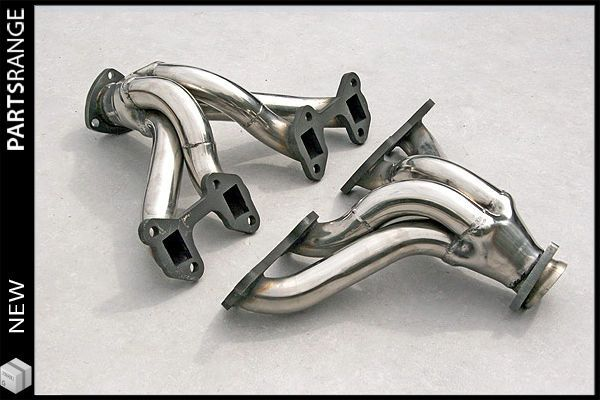 Morgan plus 8, Stainless Steel Tubular Exhaust Manifolds