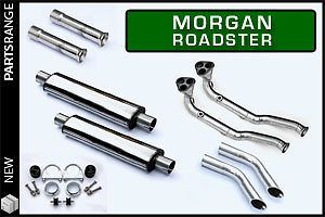 Morgan Roadster V6 stainless steel side exit exhaust - non cat