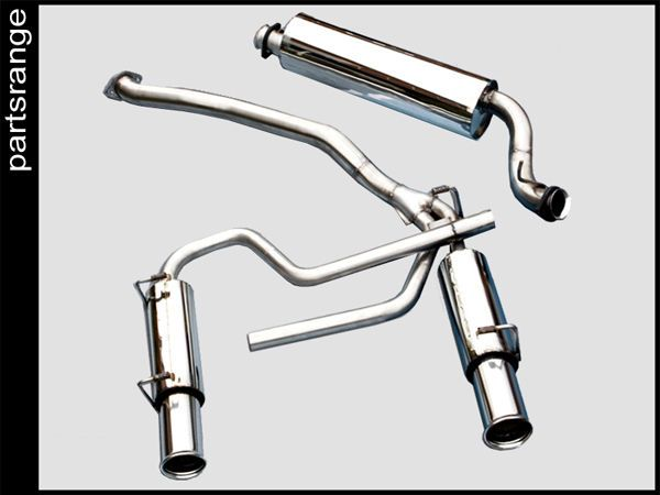 Range Rover P38 V8 Stainless Steel Cat Back Sports Exhaust System